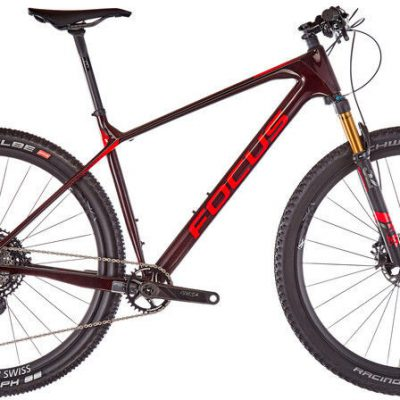 Focus Raven 9.9, carbon red S 42cm (29