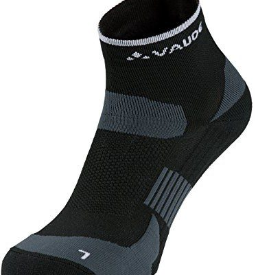Vaude VAUDE skarpety Bike Socks Short, czarny, XL 401340100450_010_45-47
