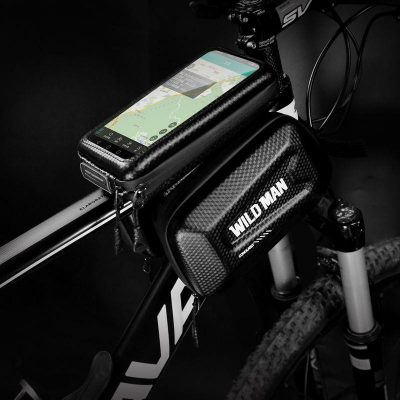 WILDMAN Sakwa do roweru WILDMAN HARDPOUCH BIKE MOUNT XL czarna 13329